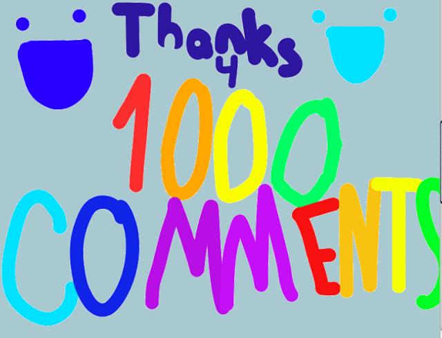 1000 comentarii blog