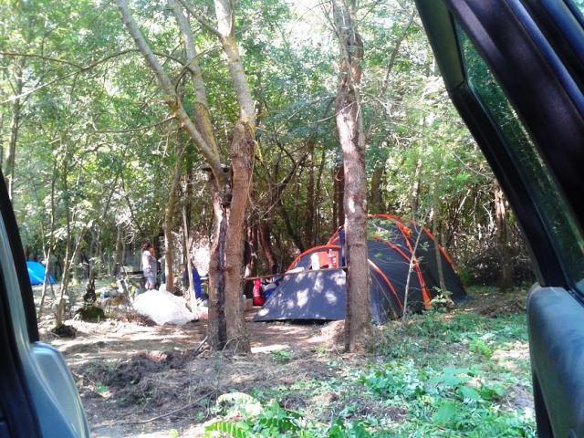 camping in krapets