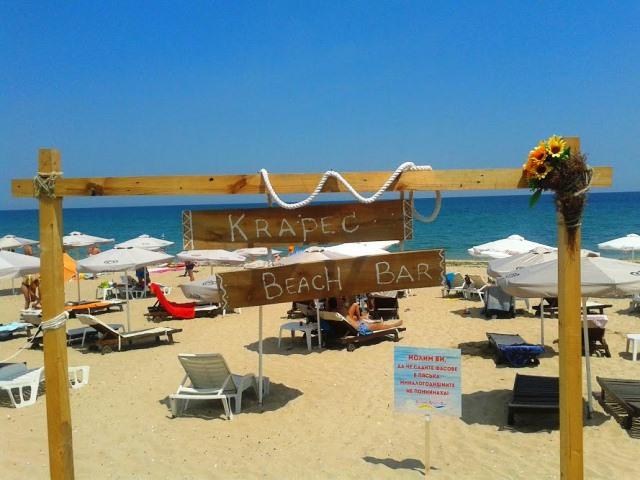 Plajele salbatice din Krapets