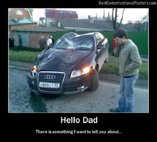 Hello-Dad-crash-car-Best-Demotivational-Posters